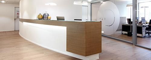 Hautartzpraxis Hirslanden Klinik Zürisee GLP Pan Architekten Zürich