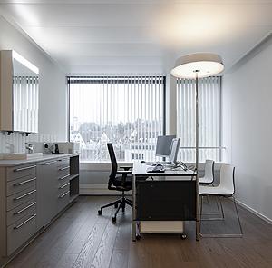 Hautärzte Zentrum Zürisee, Klinikbau Hirslanden GLP Pan Architekten