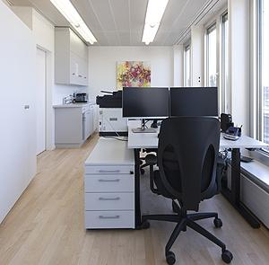 Onkologie Winterthur, Klinikbau.Praxis, GLP PAN Architekten Zürich